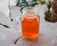 Gefrorener Zitrone-Tee Lizenzfreie Stockbilder