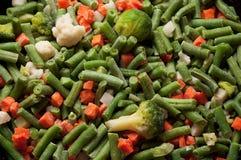 Gefrorenes Gemüse. Stockfoto