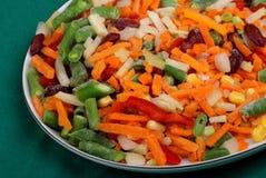 Gefrorenes Gemüse Stockbild