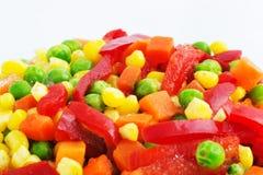 Gefrorenes Gemüse Lizenzfreie Stockfotos