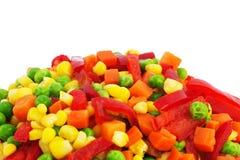 Gefrorenes Gemüse Stockfotos