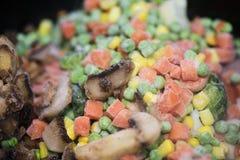 Gefrorenes Gemüse Lizenzfreies Stockfoto