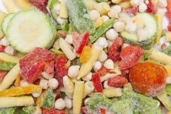 Gefrorenes Gemüse stockfoto