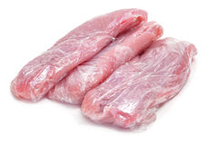 Gefrorenes Huhnfleisch stockbild