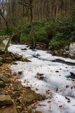 Gefrorenes Stony Creek Stockfoto