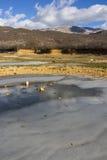 Gefrorenes Wasser Lizenzfreie Stockbilder