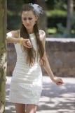 Gefrustreerde bruid Royalty-vrije Stock Foto's