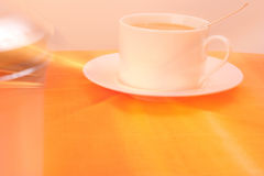 Gefunkter Kaffee Stockfotografie