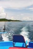 Gegaane visserij royalty-vrije stock foto's