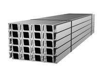 Gegalvaniseerd staalkanaal Metaalproducten 3D Illustratie vector illustratie
