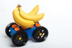 Gegangene Bananen Stockbilder