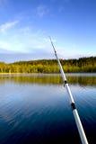 Gegangene Fischerei Stockfotos