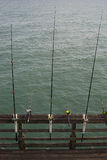 Gegangene Fischerei Stockbild