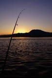 Gegangene Fischerei Stockfoto