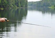 Gegangene Fischerei! Lizenzfreies Stockbild