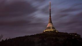 Gegekscheerde toren Stock Foto