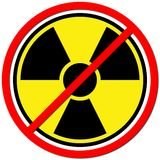 Gegen Atom Stockfotos