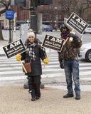 Gegen die Abtreibung Generation März für Leben 2016 Lizenzfreie Stockbilder