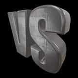 Gegen Logo GEGEN Buchstaben 3D Stockfotografie