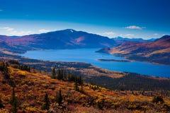 Gegend des Fish See-, Yukon, Kanada Lizenzfreie Stockfotos