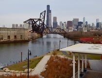 Gegengewicht-Brücke lizenzfreie stockbilder