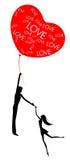 Gegenseitige Liebe Stockbild