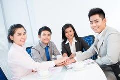Gegenseitiger Support Lizenzfreies Stockfoto