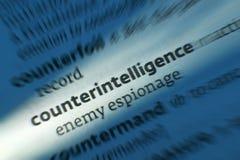 Gegenspionage - Dictonary-Definition lizenzfreie stockfotografie