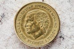 Gegenstücck von zehn schwedischer Krona Stockbild