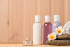 Gegenstände für Badekurnahaufnahme Lizenzfreie Stockbilder