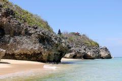 Geger海滩,巴厘岛 免版税图库摄影