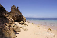 Geger strand, Bali Royaltyfri Foto