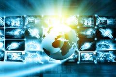 Gegevensbeheertechnologie stock illustratie