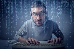 Gegewöhnt zu Hightech- Lizenzfreies Stockbild