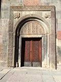 Geghard, Armenia.Portal to S. Astvatsatsin. Royalty Free Stock Images