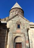 Geghard, Armenia UNESCO World Heritage Site.Portal to S. Astvatsatsin. Stock Images