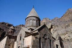 Geghard or Ayrivank medieval monastery ,Armenia Royalty Free Stock Image