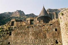 Geghard Kloster Armenien. Stockbild