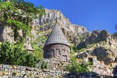 Geghard-Kloster, Armenien Lizenzfreie Stockfotografie
