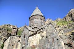 Geghard-Kloster, Armenien Lizenzfreies Stockbild