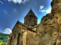 Geghard monastery, Armenia Stock Photography