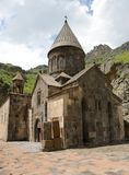 Geghard monastery, Armenia Royalty Free Stock Images