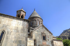 Geghard monastery, Armenia Stock Photo