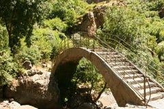 Geghard monastery bridge Stock Image