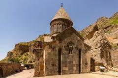 Geghard the Monastery of the Cave. Armenia stock photos