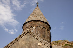Geghard monastyr. UNESCO object near Yerevan - Armenia Royalty Free Stock Images