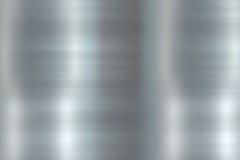 Geglätteter Metallpolierhintergrund Stockbild