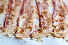 Geglaceerd Bacon Royalty-vrije Stock Foto