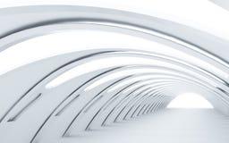Geglanste tunnel vector illustratie