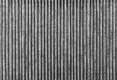 Gegolfte textuur met verticale strepen als abstracte achtergrond Royalty-vrije Stock Foto's